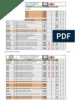 Lista de Precios Carro 23 Marzo 2021