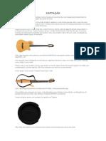 Captação violão