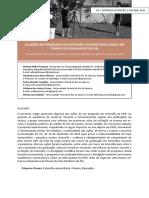 AS AÇÕES DO PROGRAMA DE EXTENSÃO UNIVERSITÁRIA CINEAD EM TEMPOS DE ISOLAMENTO SOCIAL