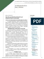 TIC'S y Sistemas de Información de la Seguridad Ciudadana y Sistema Penitenciario_ USO DE LAS TECNOLOGÍAS EN LAS OPERACIONES POLICIALES_