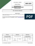 B65 4251 (rev. B; 2010.08) FR - INSONORISANTS ABSORBANTS ACOUSTIQUES SPECIFICATION