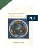 BOUDET, Jean-Patrice. Entre Science et Nigromance - Astrologie, divination et magie dans l'Occident médiéval (XIIe-XVe siècle)