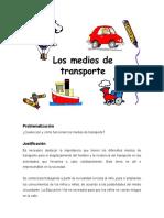 Proyecto los Medios de Transportes