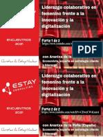 Liderazgo Colaborativo en Femenino frente a la innovación y la digitalización