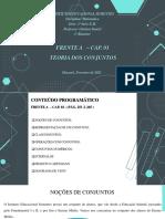 MATEMÁTICA - FRENTE A - CAP. 03 - TEORIA DOS CONJUNTOS