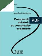 Complexité aléatoire et complexité organisée - Editions Quae