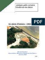 Vestiges-Le Site Gallo2 - Livret