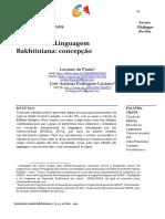 Artigo Lu e Toninho - Filosofia da Linguagem concepção verbivocovisual - Revista Diálogos 2020