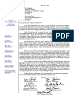 County Council Letter to Balt Co Schools