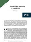 Asen Role of Rhetoric in Public Policy 10