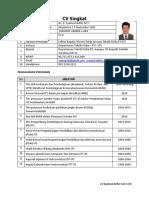 CV Singkat Syamsul Arifin9!3!2019N