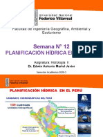 Semana 12 Planificacion Hiidrica en El Peru