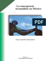 la emergencia del psicoanalisis en mexico_juan capetillo