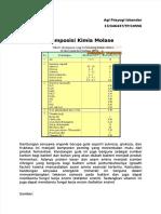 komposisi kimia molase
