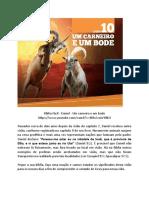 Lição 10. Capítulo 8 - Um carneiro e um bode