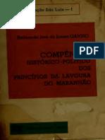 Compêndio histórico-político dos princípios da lavoura do Maranhão