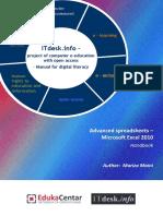 Advanced Spreadsheets Handbook-Microsoft Excel 2010