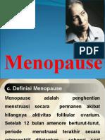 Menopause pptt