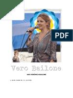 Verónica Bailone   - A seis meses de tu partida