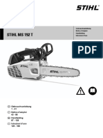 Stihl MS 192 TC operator manual
