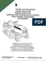 Honda HF 2214 Operator Manual