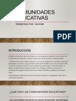 COMUNIDADES EDUCATIVAS