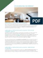 Comment Améliorer La Circulation Dans Votre Habitation