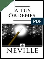A tus Ordenes - Neville Goddard