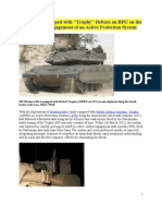Merkava 4 Equipped with Trophy Defeats an RPG on the First Combat Engagement of an Active Protection System  Two Additional Articles - Defense Update (2)