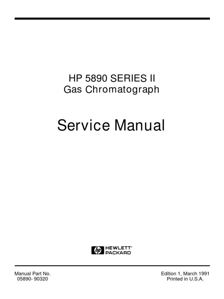 HP 5890 series II GC manual | Analog To Digital Converter