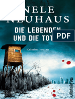 Die Lebenden Und Die Toten - Nele Neuhaus