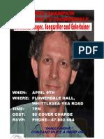 Greg Champion Flyer