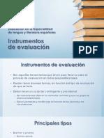 ppt T2 cont. Instrumentos de evaluacion