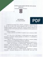 Proiect Hotărâre nr. 19 din 27.03.2021