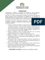 COVID -19 Comunicado - 16 de MARÇO 20201