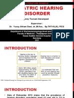 LR - Pediatric Hearing Disorder - VN