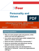 2. Personality & Values