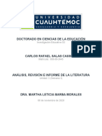 3.1 Analisis, Revisión e Informe de la Literatura_SALAS CARLOS