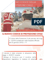 Nuovo Codice Della Protezione Civile 2018