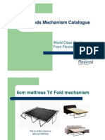 Flexirest Sofa Bed Mechanism Catalogue - January 2011 [Compatibility Mode]