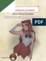 D&D 5E - Homebrew - Magic Moon Sorcerer - Traduzido Casa Do Slime - Biblioteca do Duque