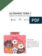 Glosario. Tema 1