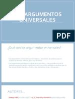 argumentos universales