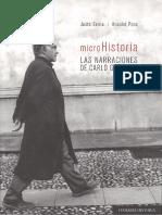 Justo Serna, Anaclet Pons - Microhistoria_ Las Narraciones de Carlo Ginzburg-Editorial Comares (2019)