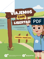 Cuadernillo Primaria Primer Ciclo Viajemos Con Libertad