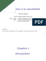 Calculabilite Slides