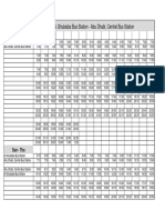 103_Route E100 JP_Timetable