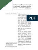 Biolixiviacion Microbiana Cu