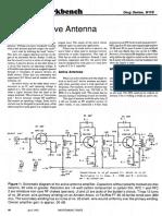 Build an Active Antenna
