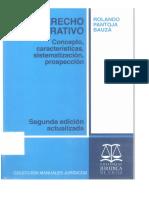 El Derecho Administrativo - Rolando Pantoja Bauzá
